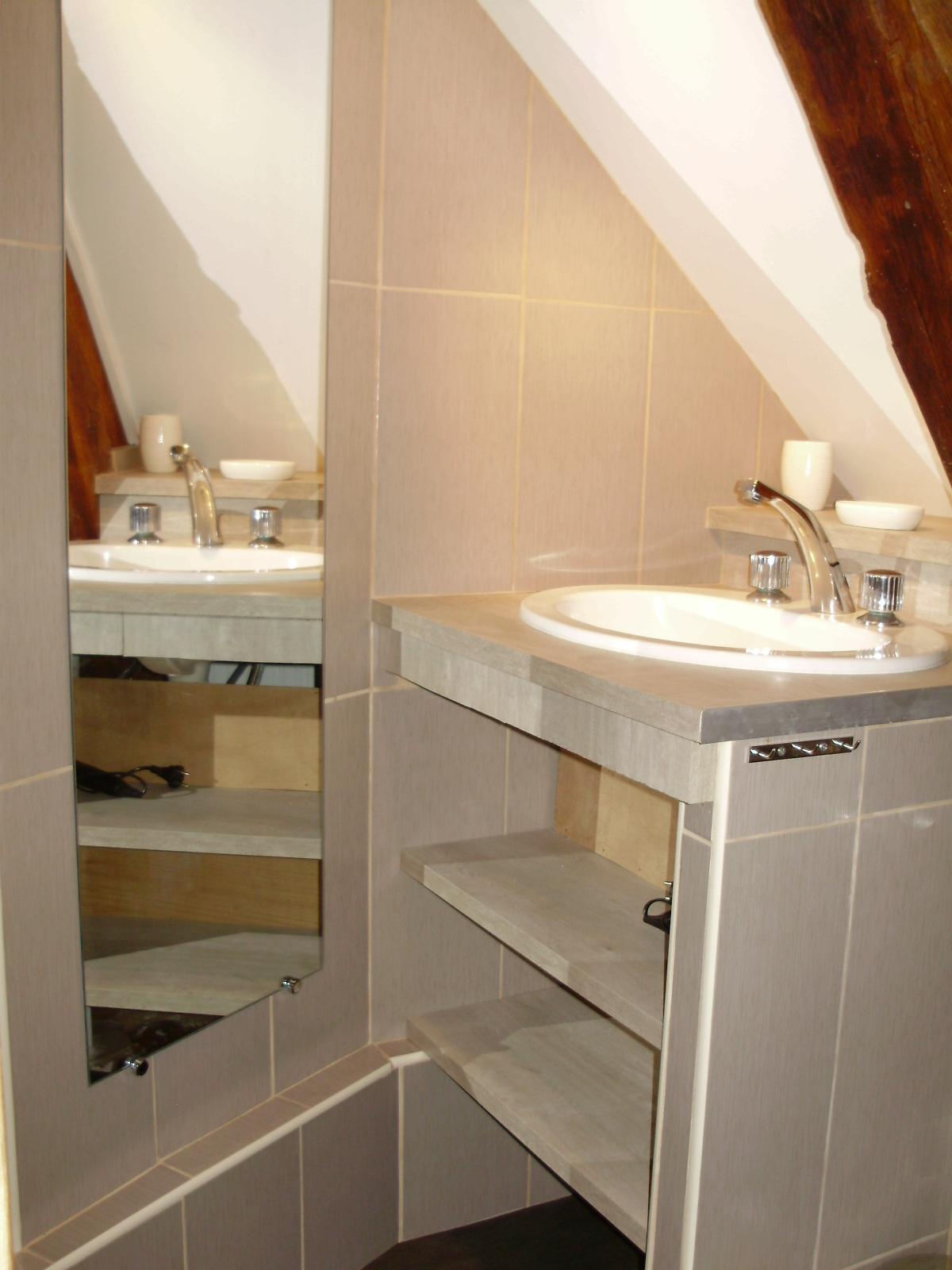 Les 6 chambres for Salle eau